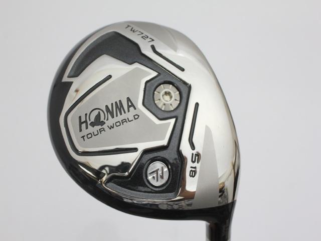 Used-A-Golf-Honma-Tour-World-TW727-Fairway-wood-VIZARD-YZ55-SR-5W-Men-N1A